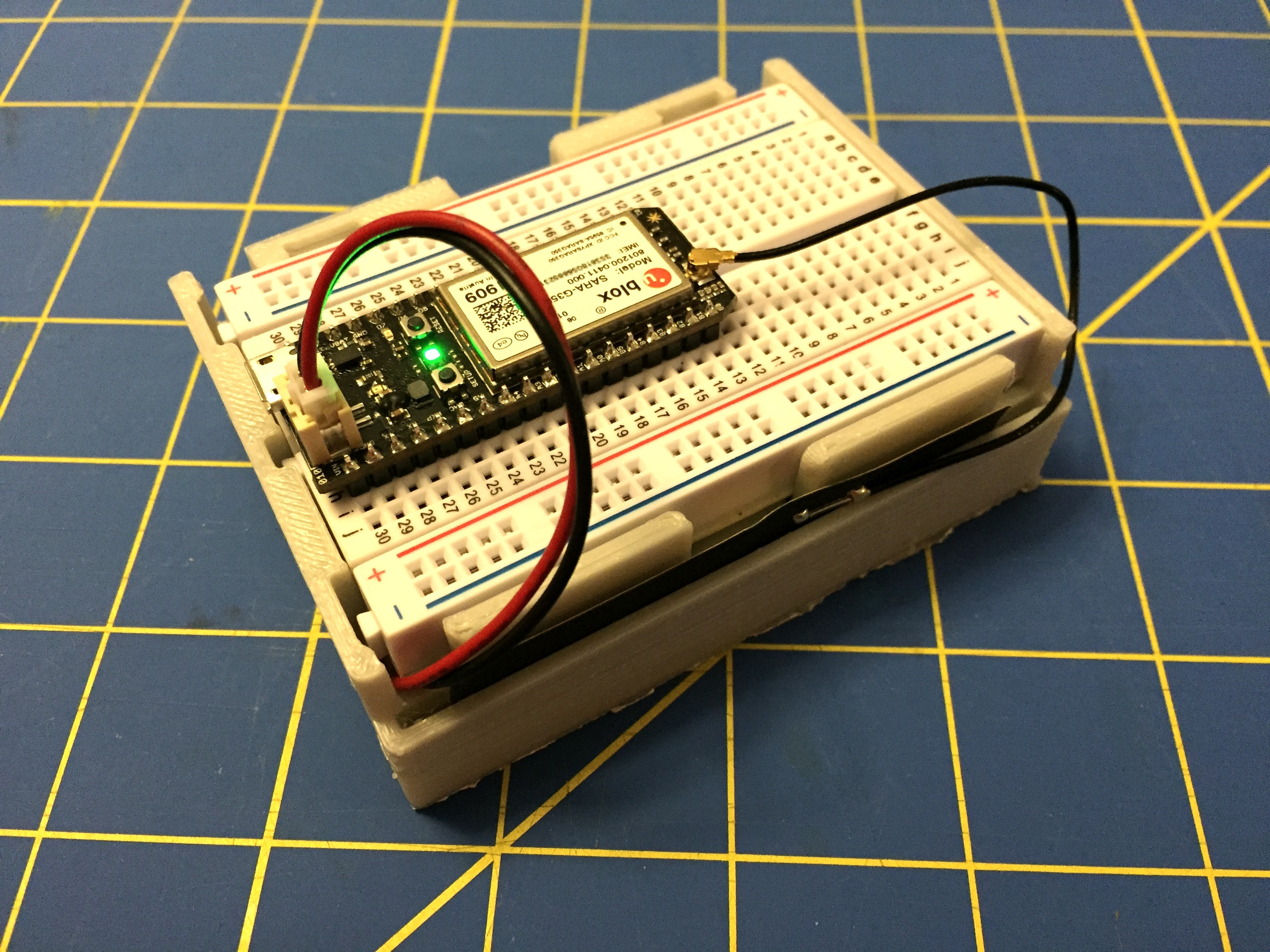 Particle Electron Breadboard Box