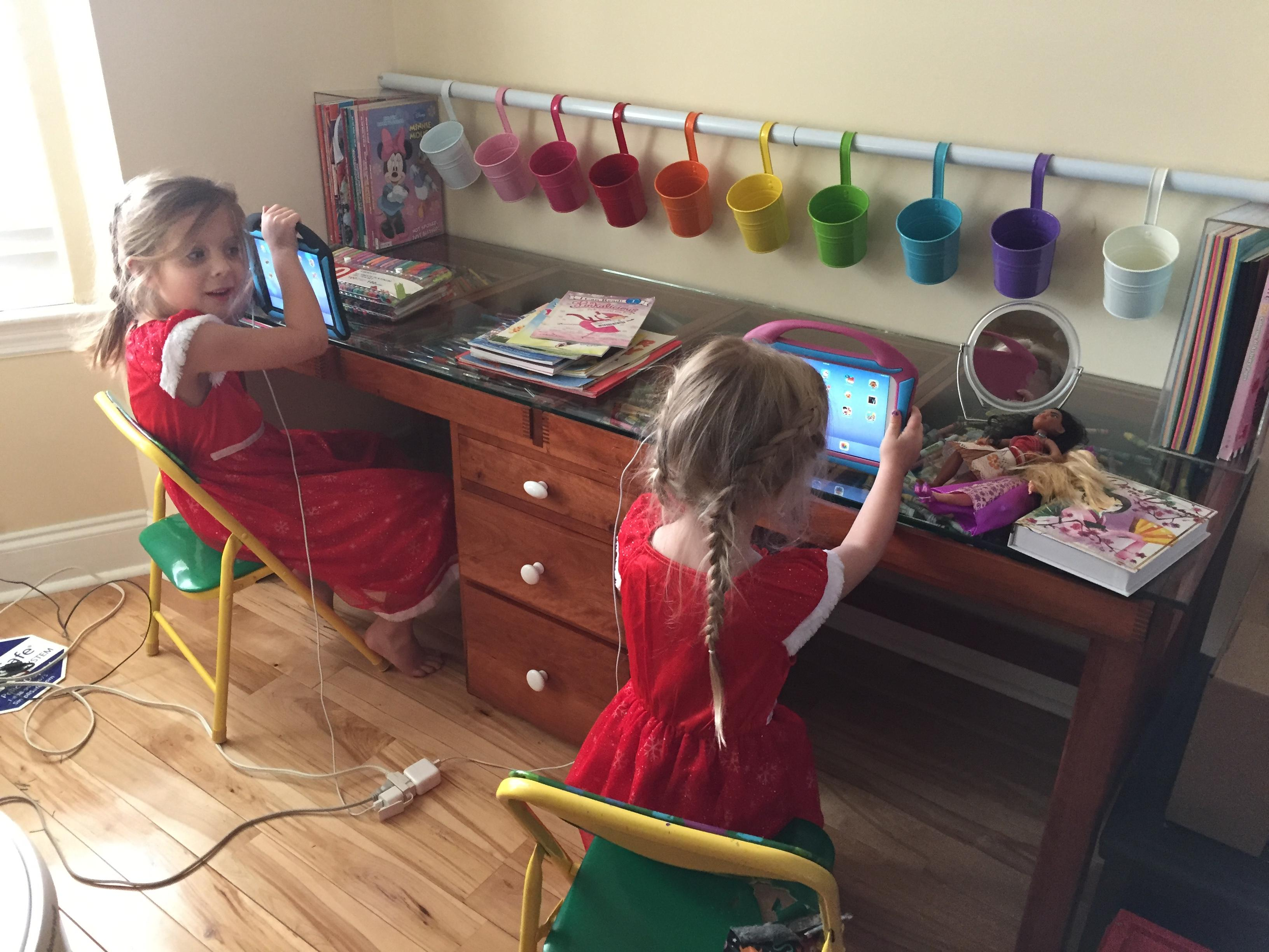 Kids' Art Table