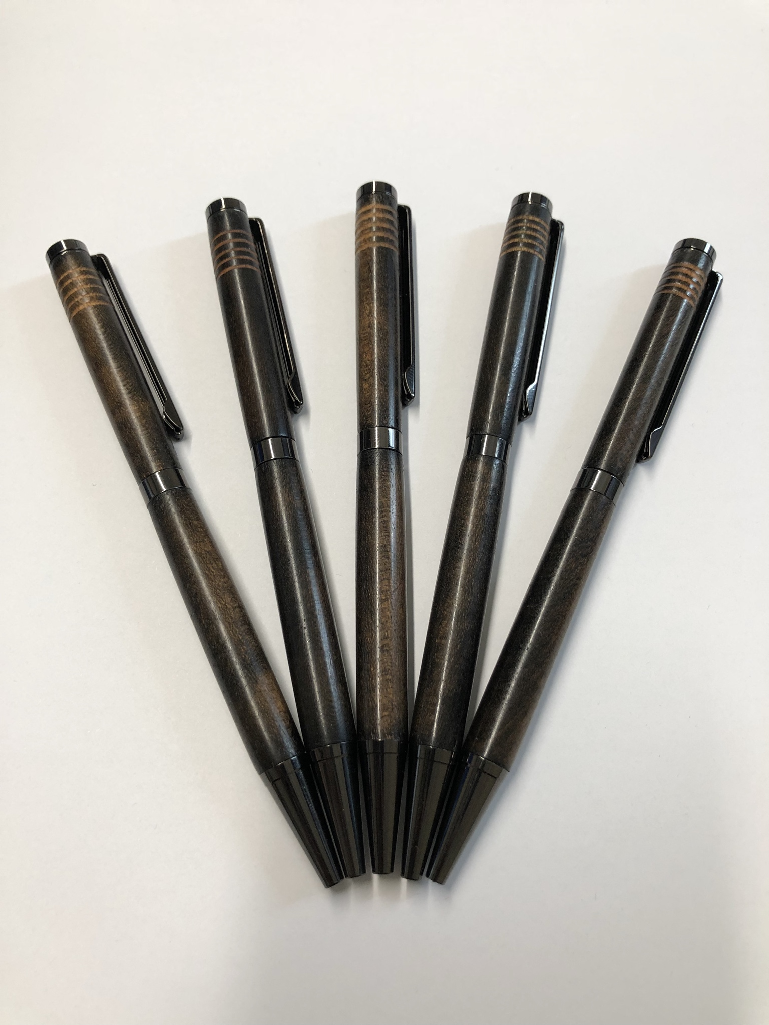 Ebonized Cherry Pens